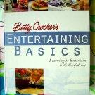 Betty Crocker's Cookbook  Entertaining Basics ~ Learning to Entertain Guide