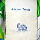 Vintage Church Cookbook 1969 Braham Minnesota MN KITCHEN TREATS Cookbook Scandinavian