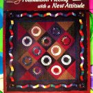 Foundation Piecing with a New Attitude by Ellen Rosintoski Quilting Instruction Book