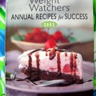 Weight Watchers Annual Cookbook 2002  ~ Years Worth of Recipes HC