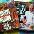 Lot ~ Burt Wolf's Table + Good to Eat: Flavorful Recipes ~ TV's Food Travel ~ Wolf Cookbook
