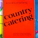 Country Catering Cookbook Recipes 5 to 500 Quantity Cooking Wadena MN 1980's Scandinavian