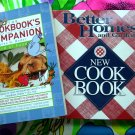 Lot Modern Better Homes and Gardens Cookbook 1200 Recipes ~ PLUS Companion Book for Foodies!