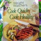 Weight Watchers Cook Quick Cook Healthy HC Cookbook