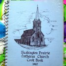 Washington Prairie Lutheran Church Cookbook 1987 Decorah, IA Norwegian Recipes Too!
