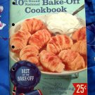 Pillsbury Best Bake Off 10th Grand National Cookbook ~  Vintage 1959