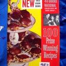 Pillsbury Bake Off 4th Grand National Cookbook ~ Vintage 1953