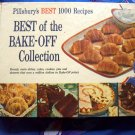 Rare Vintage 1959  Pillsbury's BEST 1000 Recipes BEST of the BAKE-OFF Collection Cookbook HC