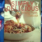 Weight Watcher SIMPLY DELICIOUS Winning Points Cookbook