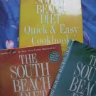 Lot 3 South Beach Diet Book & Cookbook Arthur Agatston Weight Loss Guide Quick & Easy
