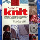 How to Knit: The Definitive Knitting Course Step-by-Step Techniques BLISS Instruction Book