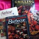 Lot BBQ Barbecue Cookbook  100's Recipes Vintage & New! ~ Grilling Sides Marinades