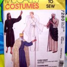 McCall's Sewing Pattern # 7280 Size Adult MEDIUM  ~ Holy Night Angel Shepherd King Costume
