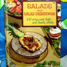 Vintage 1957 CULINARY ARTS INSTITUTE ~ SALADS and SALAD DRESSINGS Cookbook