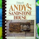 Rare ~ Dining at Andy's Sandstone House Cookbook Two Harbors, Minnesota by Andrew Wilson 1982