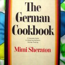 Vintage 1968  The German Cookbook by Mimi Sheraton  HCDJ ~ Authentic German Cooking ~ Recipes