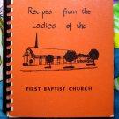Litchfield Minnesota MN First Baptist Cookbook Vintage 1977