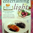 Entertaining Light Cookbook Healthy Company Menus with Great Style