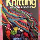 Knitting With Bits and Pieces by Jeanne Stauffer ~ Knitting Project Instruction Book