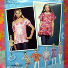 Simplicity Pattern # 2961 Project Runway Top Blouse 4 6 8 10 12