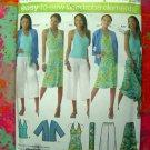 Simplicity Pattern # 4193 UNCUT Woman's Wardrobe Elements Size 20 22 24 26 28