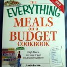 Everything Meals on a Budget Cookbook: High-flavor, low-cost meals your family will love