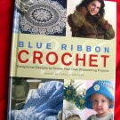 BLUE RIBBON CROCHET PATTERN BOOK from WHITE BIRCHES 53 Pattern Afghans Heirloom Patterns too