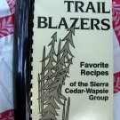 Vintage 1988 Trail Blazers Cookbook Sierra Club Cedar-Wapsie Chapter Des Moines IOWA