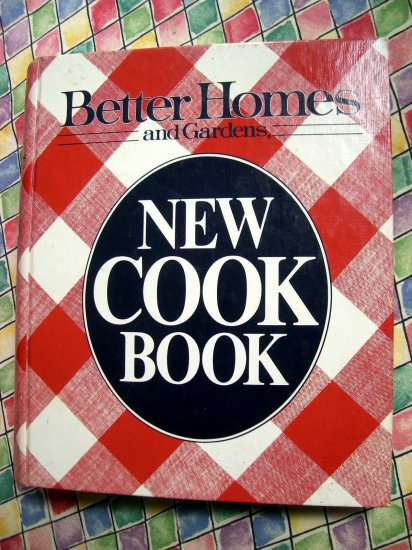 SOLD! Vintage 1981 /  1987 Better Homes and Gardens NEW Cookbook