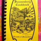 Sonnenberg Cookbook Canandaigua, New York NY 1992