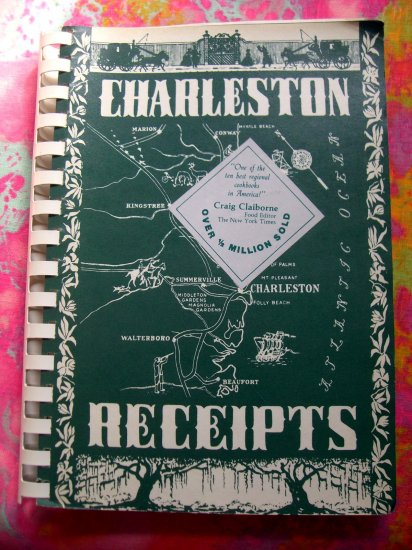 SOLD! Charleston Receipts (Recipes) Cookbook ~ Junior League South Carolina SC