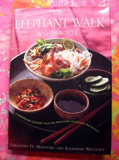 The Elephant Walk Cookbook Exciting World of Cambodian Cuisine Nationally Acclaimed Restaurant