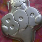 Wilton Cake Pan  Halloween Friendly Boo Ghost  #2105-1031  1988