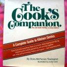 Cooks Companion 1st Edition 1978 HCDJ Cookbook &  Kitchen Guide