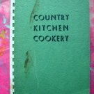 Vintage 1958 Fremont County IOWA Cookbook Country Kitchen Cookery ~ IA