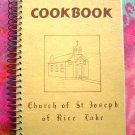 Rice Lake Circle Pines Minnesota Church Cookbook Vintage 1975