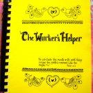 Vintage 1977 Maple Grove Minnesota MN Church Cookbook The Worker's Helper