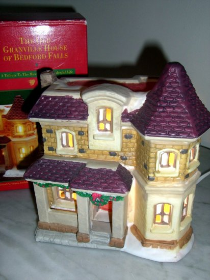 Sold It 39 S A Wonderful Life Village Old Granville House From Target