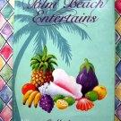 Palm Beach Entertains HCDJ Vintage Junior League Cookbook Florida