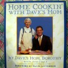 Home cookin' With Dave's Mom HC Cookbook David Letterman (Dorothy) Recipes