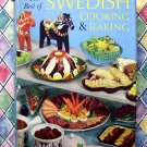 Vintage 1969 Best of Swedish Cooking & Baking Cookbook