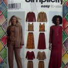 Simplicity Pattern #5463 UNCUT Misses Pants Skirt Tank Top Jacket & Top Size 20 22 24 26 28