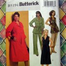 Butterick Pattern # 5194 UNCUT Misses Womans Dress Top Shorts Pants Size 18 20 22 24