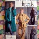 Simplicity Pattern #3562 UNCUT Misses Lined Coat Size 14 16 18 20 22