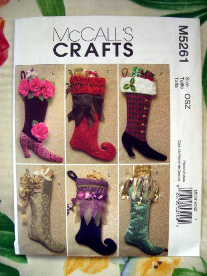 SOLD! McCall's Pattern # 5261 New UNCUT Fancy Christmas ...