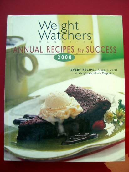 Weight Watchers Annual Cookbook 2000 ~ Years Worth of Recipes HC