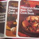 Lot Vintage Pillsbury Bake Off Cookbooks Cakes Cookies Main Dishes