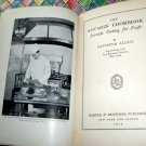 Antique 1929 The Savarin Cookbook by Baptistin Allevi