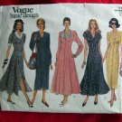 Vogue Pattern # 1149 UNCUT  Basic Design Dress Sizes 12 14 16