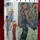 Style Pattern # 2637 UNCUT Misses Sun Dress Cross Back & Laced Back